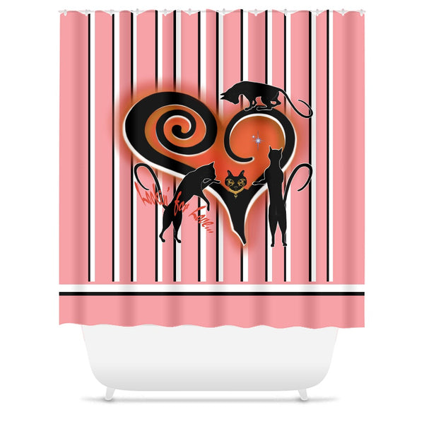 Lookin' For Love Shower Curtains (E)
