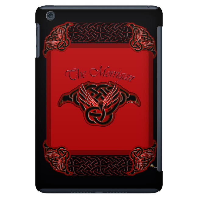 The Morrigan Raven-Knot with Knotwork Frame iPad Mini Tablet Case