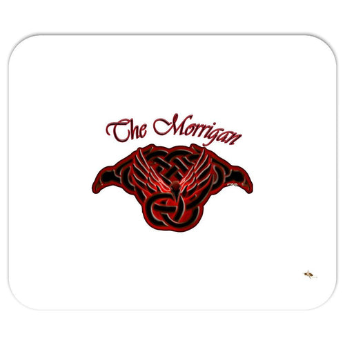 The Morrigan Raven-Knot Mouse Pad