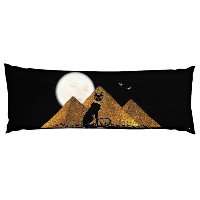 Bast Giza Body Pillow Case