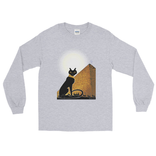 Bast Buddies Great Pyramid Long Sleeve T-Shirt