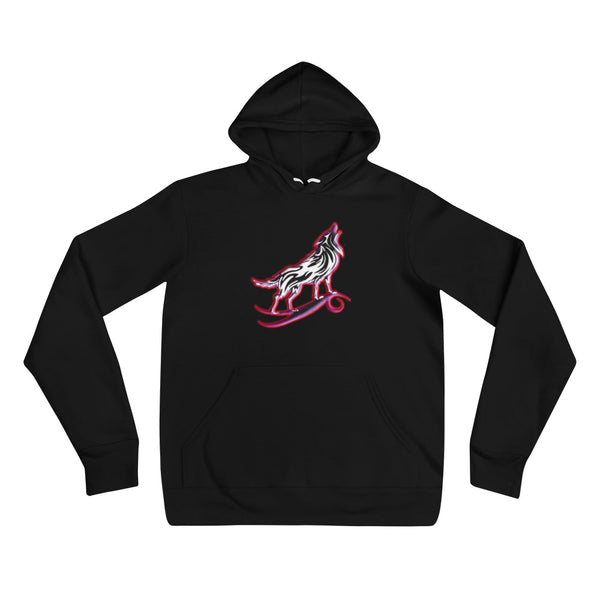 I am a Wolf Red Shadow Unisex Hoodie (TS)