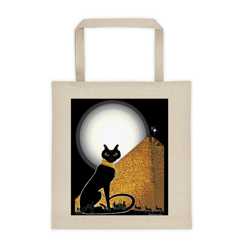Bast Buddies Great Pyramid Tote Bag