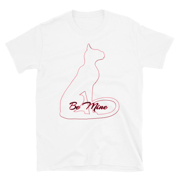 Bast Be Mine White Short-Sleeve Unisex T-Shirt