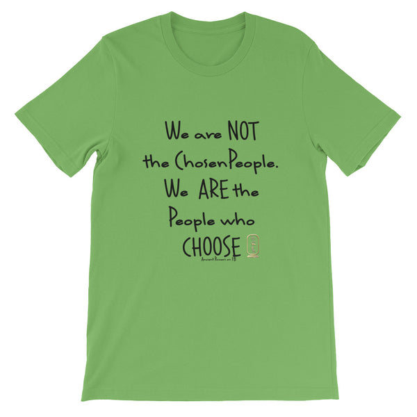 People Who Choose (Black) Unisex Short-Sleeve T-Shirt
