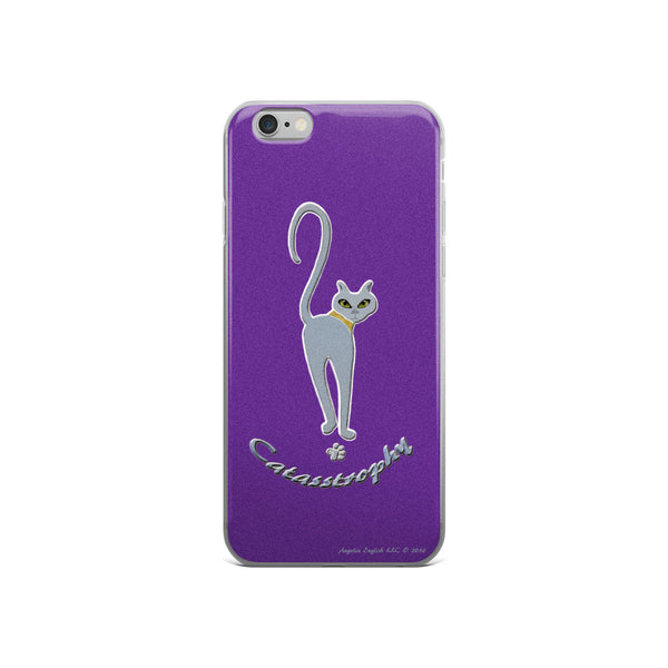 Blue Catasstrophy iPhone 6/6s & 6 Plus/6s Plus Violet Cases