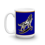 I am a Wolf with Gold Shadow Mug