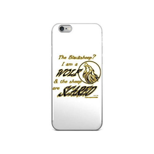 I am a Wolf with Gold Shadow iPhone 6/6s & 6 Plus/6s Plus Cases