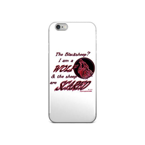 I am a Wolf with Red Shadow iPhone 6/6s & 6 Plus/6s Plus Cases