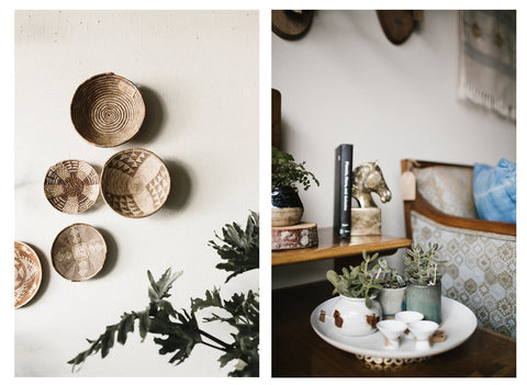 Carefully selected vintage decor from Appetite Shop