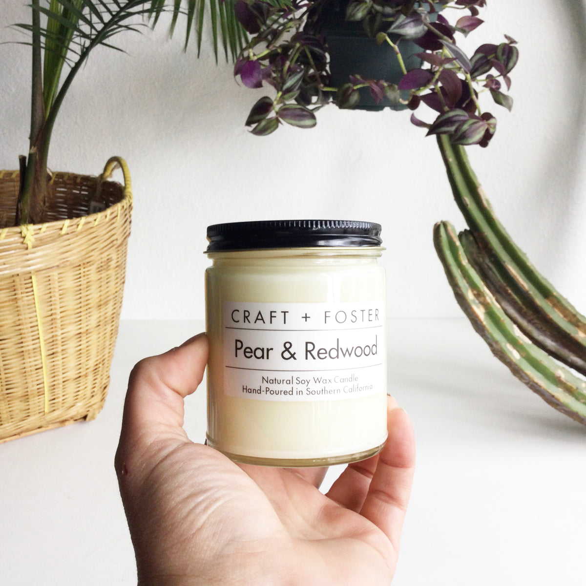 Pear & Redwood Jar Candle