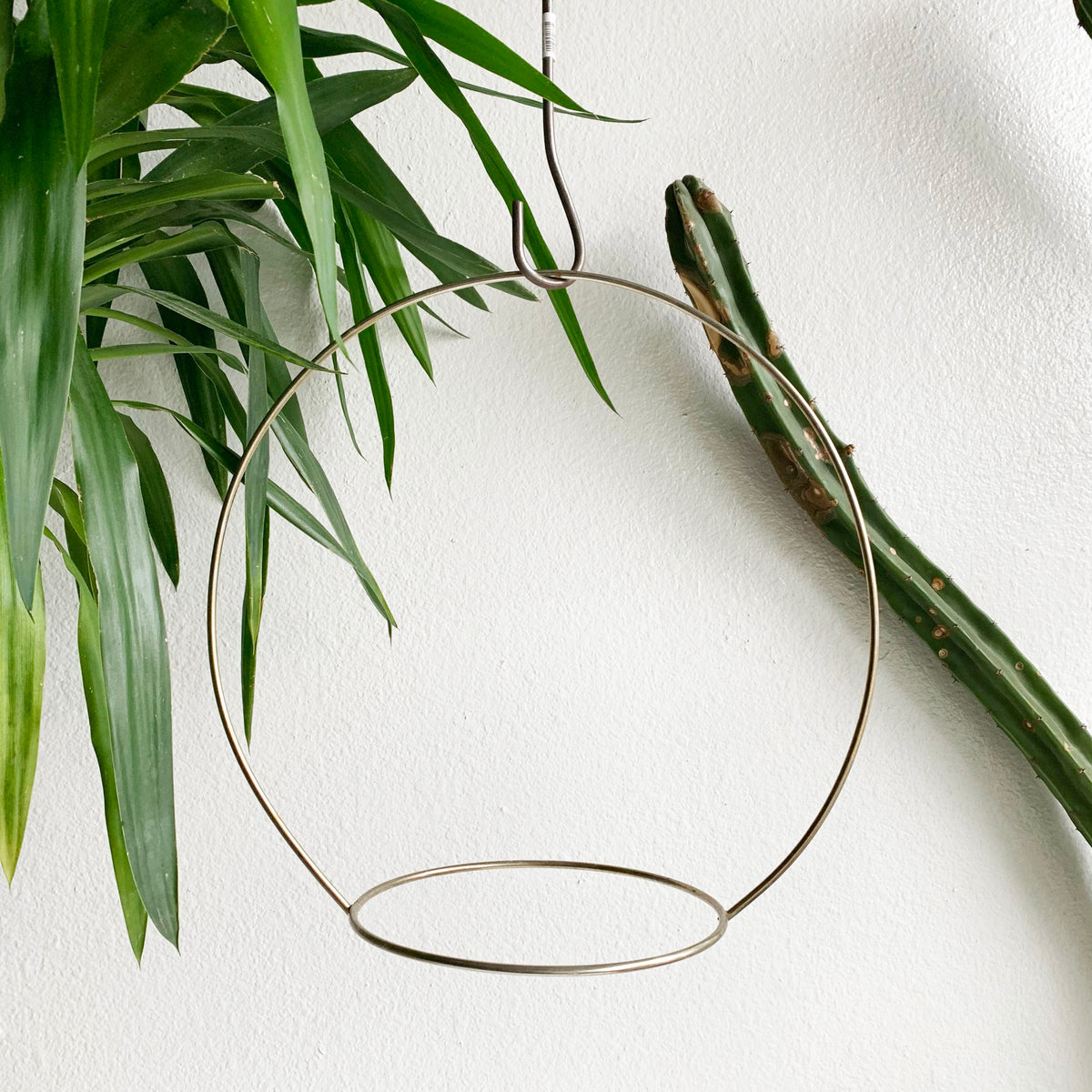 Vintage Metal Plant Hoop- LOCAL pick- up or Delivery