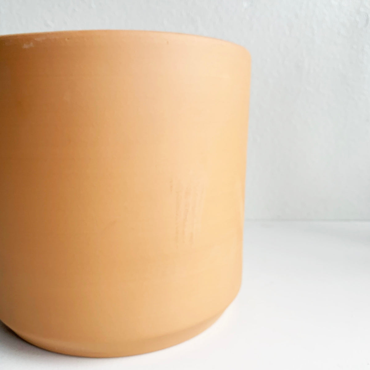 "10"" Pot/Planter Terra Cotta Cylinder"