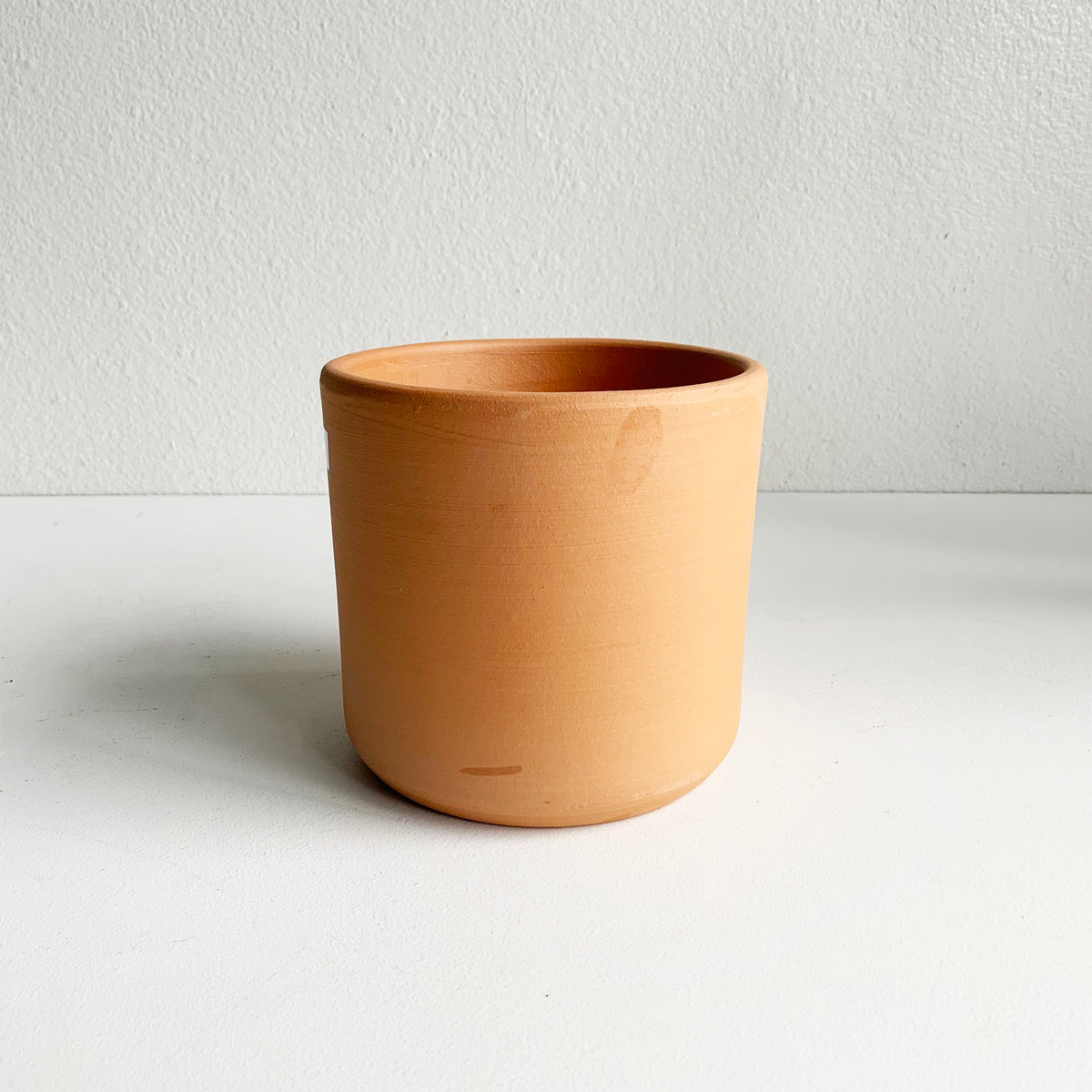 "6.5"" Pot/Planter Terra Cotta Cylinder"