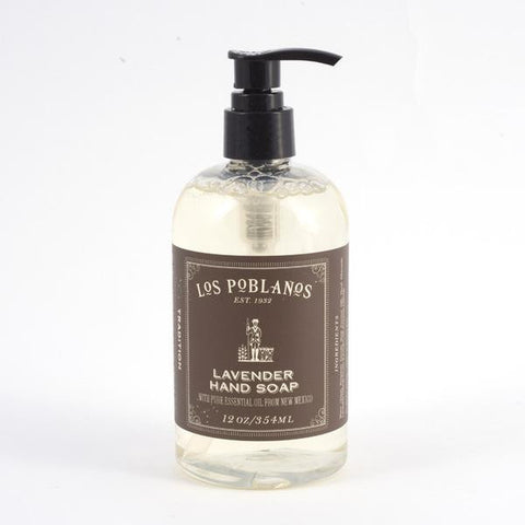 Los Poblanos Lavender Soap in pump bottle