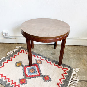 Round Mid-Century Modern Cocktail Table **LOCAL ONLY**