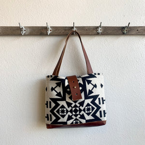 LAST ONE! Ann Tote in Condensed Pattern from Pendleton Wool