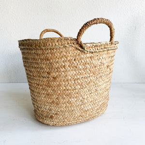 Basket Tote For The Beach or Plants