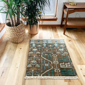 Small Antique Area Rug