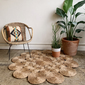 Sea Grass Mat- for Floor or Wall Hanging