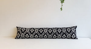 XL Lumbar Ikat Pillow