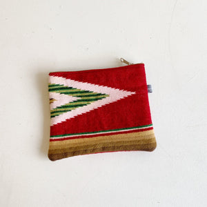 Zip Bag made from Vintage Saltillo Blanket