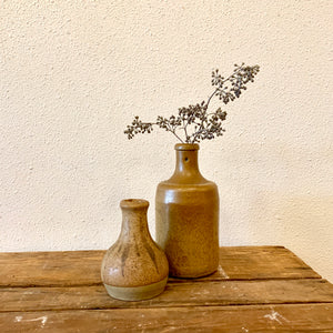 Vintage Stoneware Beer Bottle
