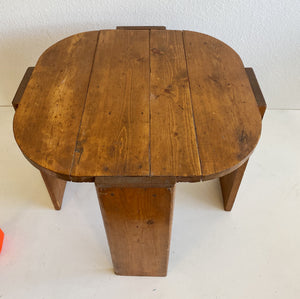 Short Vintage Wooden Table- Local Pick-up or Delivery only