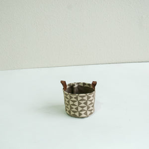 Small Bucket- Harlequin Print