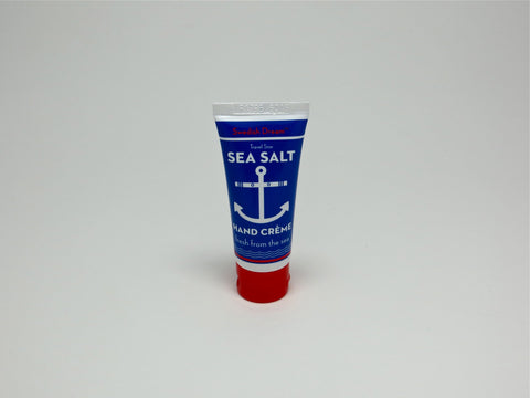 Sea Salt Hand Creme mini bottle anchor packaging