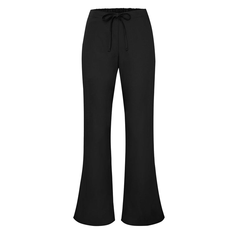 Universal flare leg natural drawstring pants