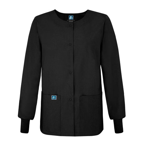 Universal round neck warm up Jacket