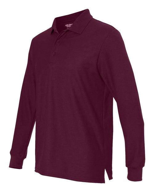 DryBlend Double Pique Long Sleeve Sport Shirt