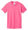 Adult Short sleeve cotton Tee
