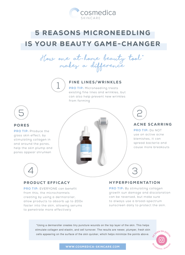 5 Reasons Microneedling is Your Beauty Game Changer