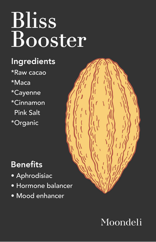 Mondeli Bliss Booster Cacao Maca Cayenne