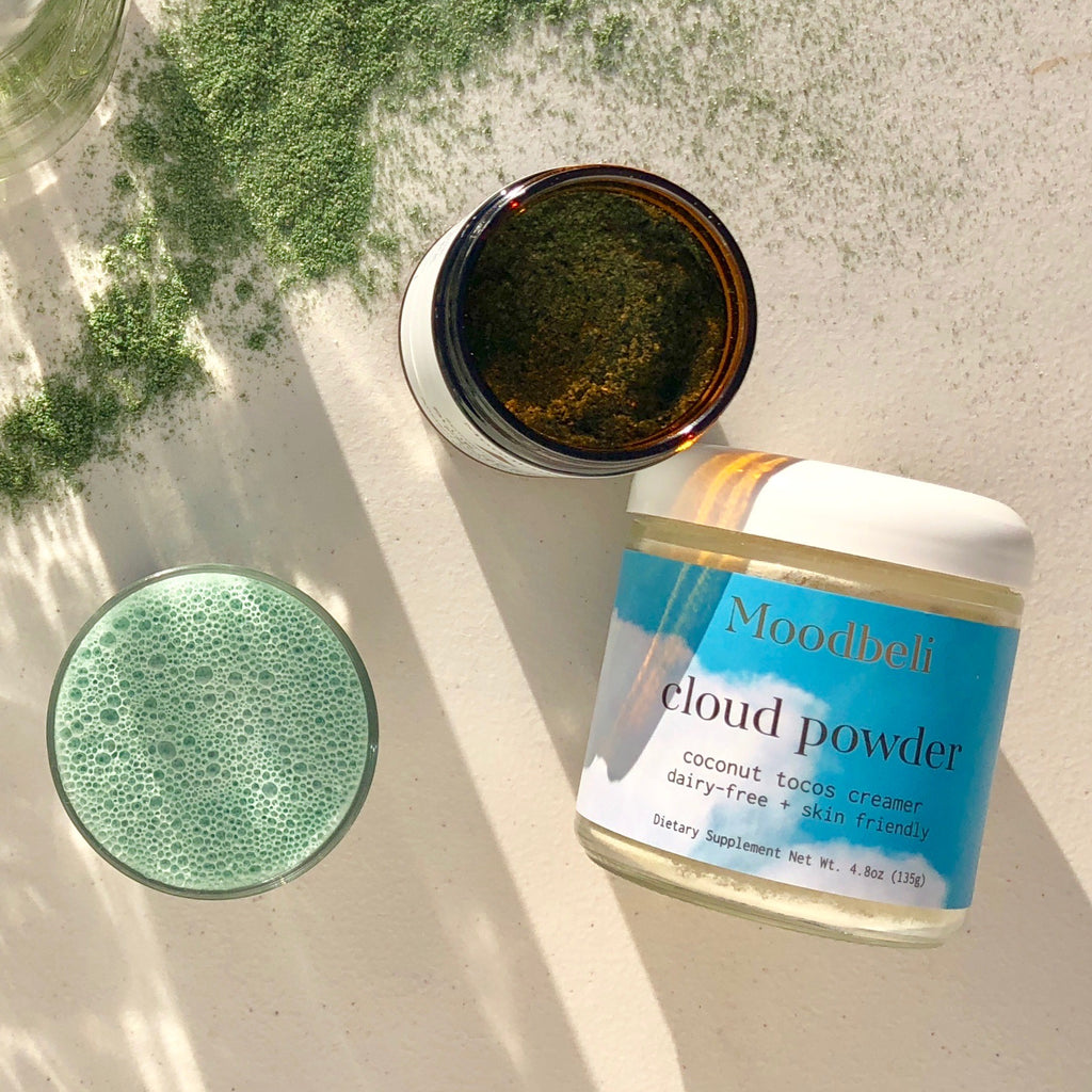 Moodbeli Blue Green Protein Spirulina Powder