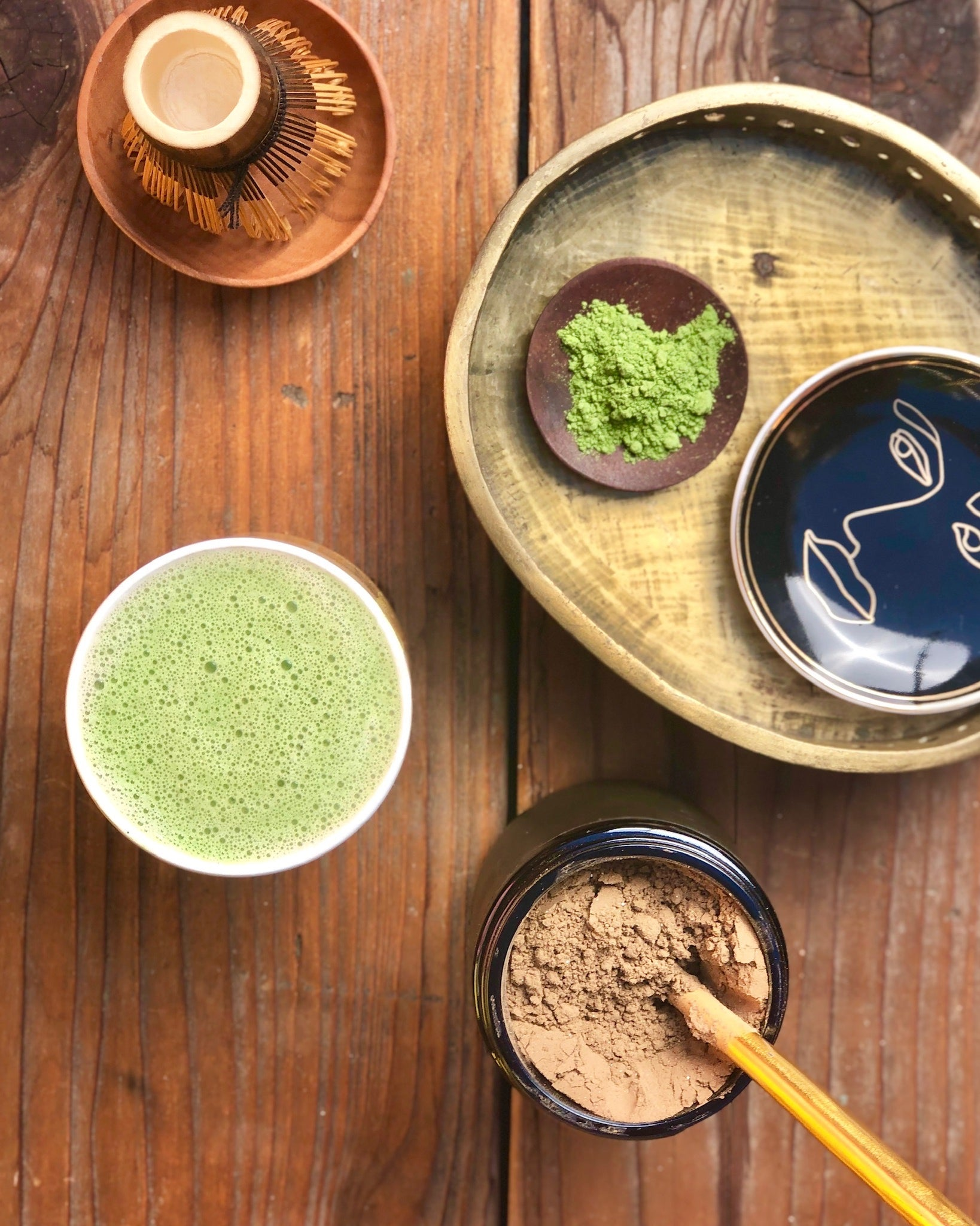 Ceremony Tonic with Extra Matcha