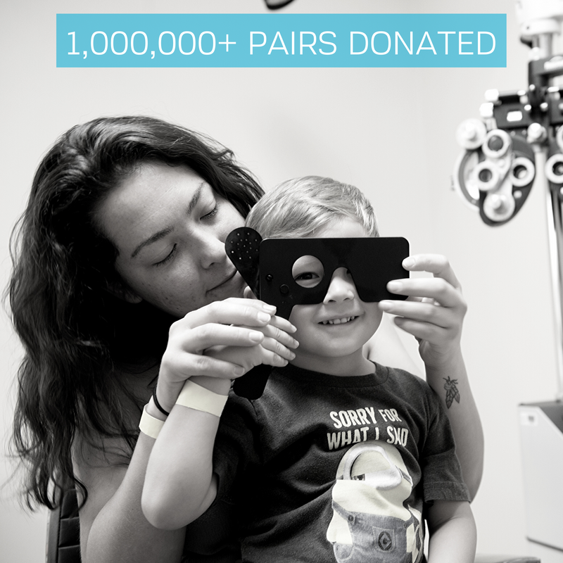 1,000,000 Pairs Donated | The Gift of Sight