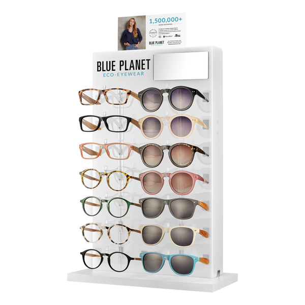 BP245 - 14pc Blue Light Glass + Sunglass Starter Package w/Display