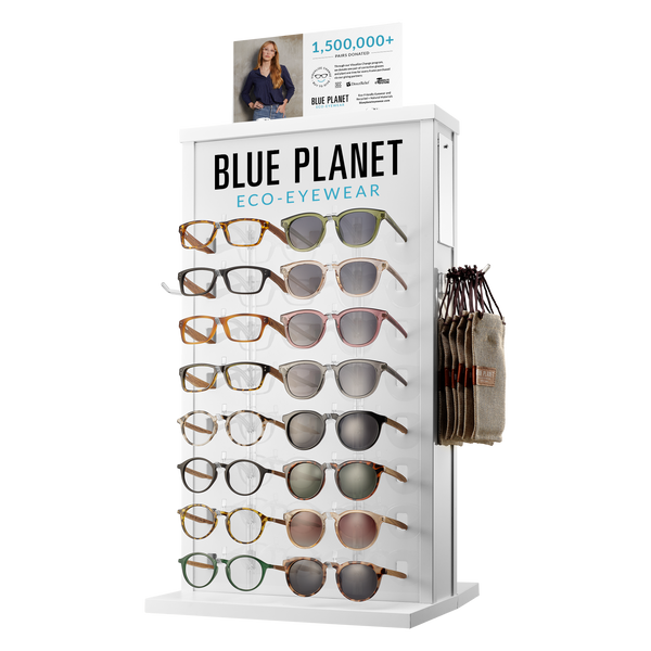 BP560 - 32PC Blue Light & Sunglass Starter Package w/Display