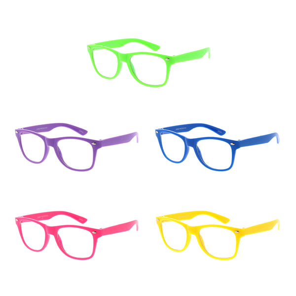 K2010 - Kids Blue Light Filtering Glasses - NEW - Assorted Colors | 5PC Minimum