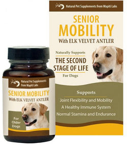 Wapiti Labs Inc. Dog Senior Mobility, 60 tablets - PawMax