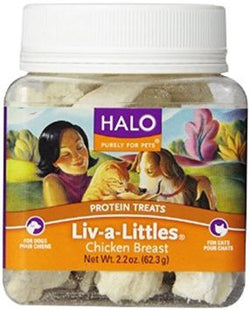 Halo Purely For PetsLiv-a-Littles Freeze-Dried Protein Treats, 2.2oz - PawMax