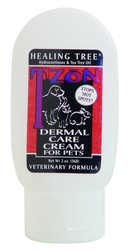 Healing Tree T-ZoN Dermal Care Cream For Pets, 2 fl oz - PawMax