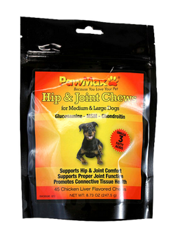 Pawmax Large Dog Hip Joint Chews - PawMax