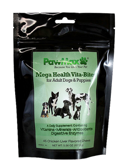 Pawmax Mega Health Vita Bites for Dogs - PawMax