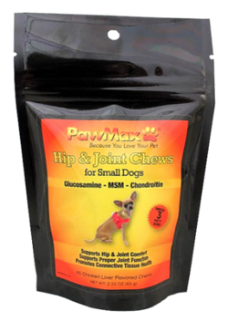 Pawmax Small Dog Hip + Joint Chews - PawMax