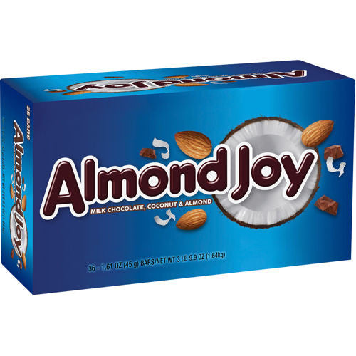 ALMOND JOY 36CT from Miami Candies Sweets & Snacks