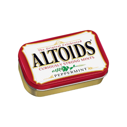 ALTOIDS 1.76oz PEPPERMINT from Miami Candies Sweets & Snacks.